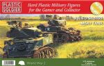 62021 Plastic Soldier Company 1/72 Scale Allied Stuart M5A1 Tank (3)